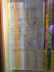 Rosie James textile panel